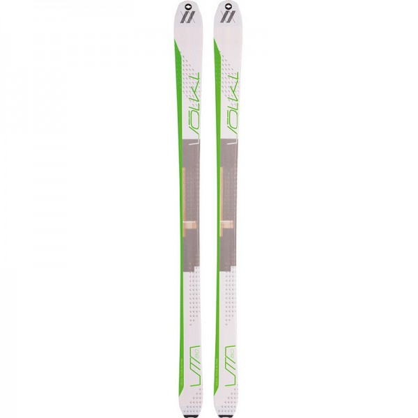 Volkl VTA80 FLAT Touring Skis+ 70% mohair / 30 % nylon Skins