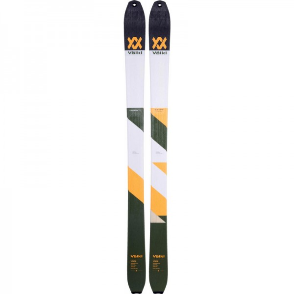 Volkl VTA98 FLAT Touring Skis+ 70% mohair / 30 % nylon Skins