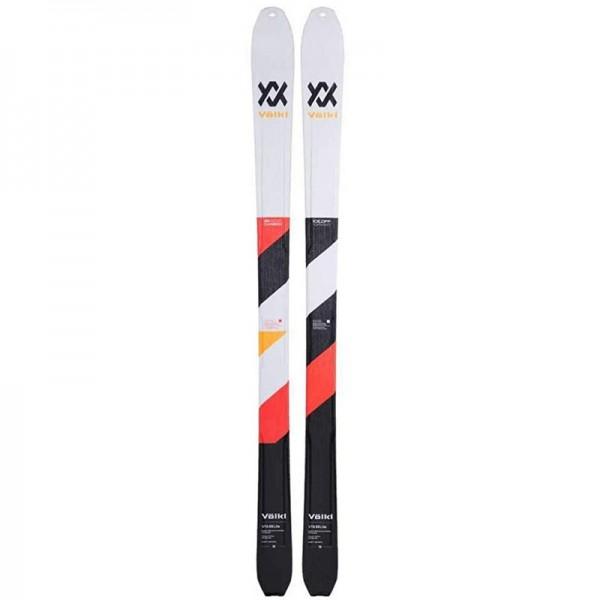Volkl VTA88 LITE FLAT Touring Skis+70% mohair / 30 % nylon Skins