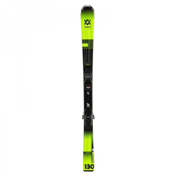 Volkl Junior`s DEACON Skis + VMOTION Bindings