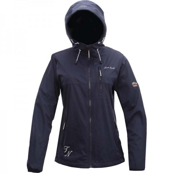 True North Women`s SOFTSHELL NF Hooded Jacket