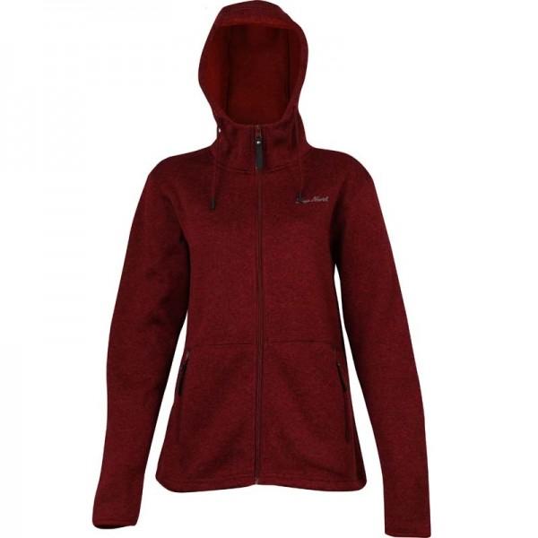 True North Women`s F.FLEECE Hooded Jacket