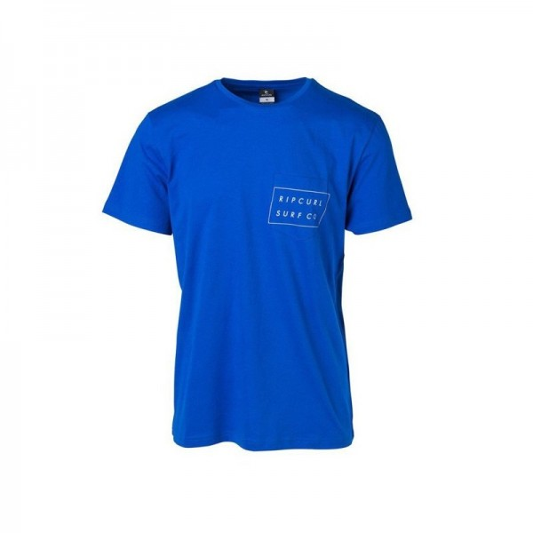 Rip Curl Men`s RIP SURFCO POCKET T-Shirt