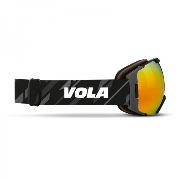 Vola Unisex FAST BW Ski Goggles