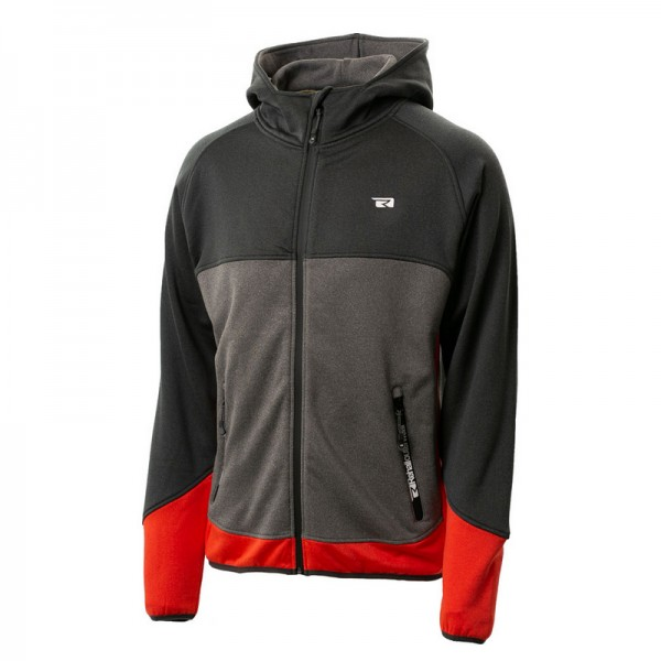 Rehall Men`s OSCAR Hooded Powerstretch Jacket